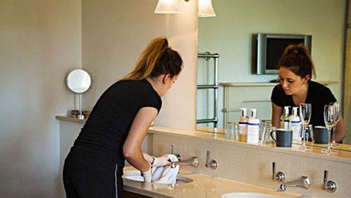 酒店朋友告诉我,住酒店时看到这种镜子,最好去退房,切记放心上