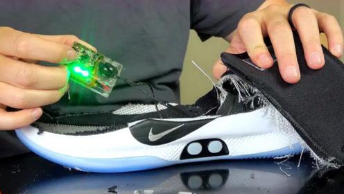 球鞋分享:10万一双的高科技耐克鞋,拆开看看里面到底有什么?