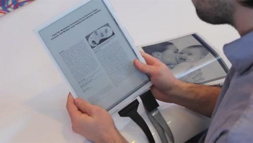 未来手机的发展方向,比纸片还薄,随意弯曲,可惜没几万买不起!