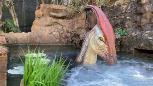 世界上最神奇的游乐园,大门由恐龙看守,内部如同侏罗纪世界!