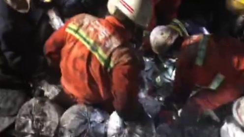 现场视频!浙江海宁一园区污水罐体坍塌致7人丧生