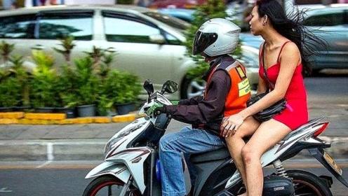 为什么女性坐摩托喜欢侧着坐?无非这三个原因,但真的很危险