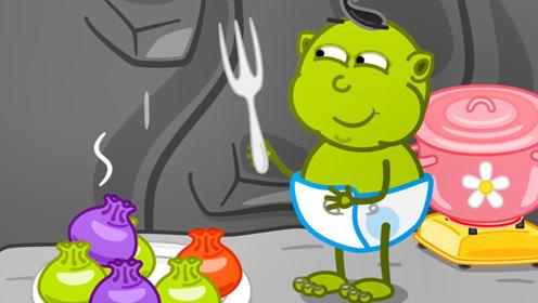 宝宝不爱吃青菜怎么办?爸爸用蔬菜汁和面,宝宝立马抢着吃!