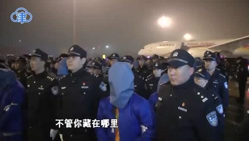 津云微视 天津公安远赴印尼成功押解75名电信网络诈骗嫌疑人回津