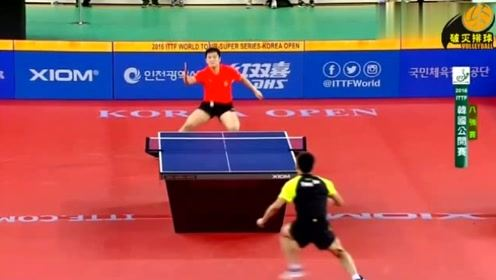 韩国观众看得目瞪口呆:这就是中国乒乓球队还是宇宙队?撤了撤了!