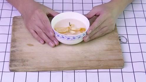 橘子皮加它这样蒸30分钟,感冒咳嗽的时候喝下,几天就能止咳