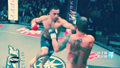 格斗比赛中的超人拳KO,威力更大、一拳击倒!