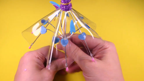 微世界DIY:迷你透明雨伞