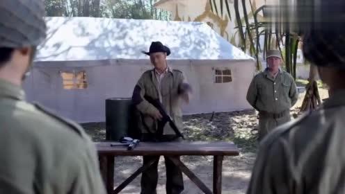 远征远征:史迪威让士兵练枪,上来就五千发子弹,士兵一听贼搞笑