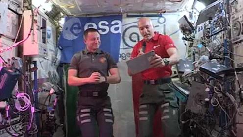 太空里最好种的菜是啥?太空里能看到气候变化吗?宇航员答疑