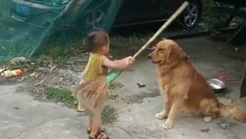 狗子:闹够了没有,我都陪你演了这么长时间的戏了,镜头都重复好几个环节了