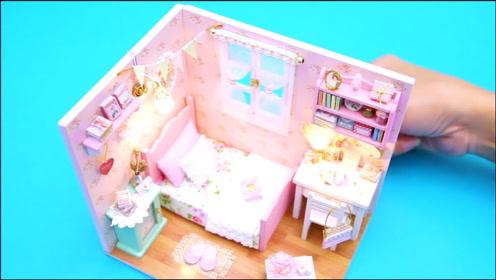 微世界DIY:迷你甜蜜之家玩具屋