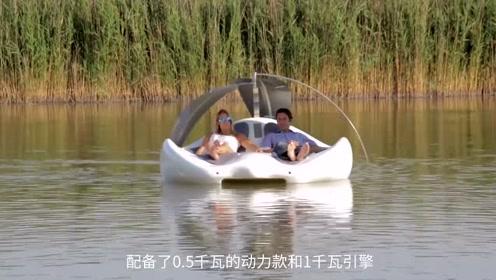 国外打造家用迷你游艇,水上享受两人世界,预售价15000美金!