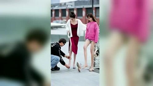 红裙子那个太瘦,还是粉色那个好!