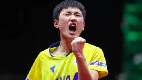 张本智和再度口出狂言!一下飞机就宣战中国国球:7天后卫冕冠军