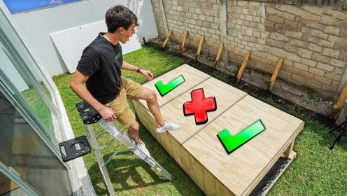 小伙挑战未知盒子!哪一个才是安全的?网友:选错的下场有点惨!