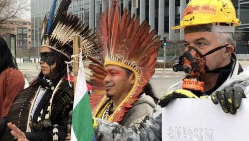 直击气候大会:巴西史上最严重原油泄漏,原住民呼吁停止开采