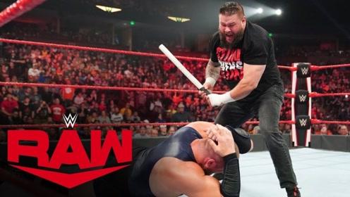 【RAW1385期】萨米串门帮老铁找欧文斯评理 魔力劳力低情商遭断头台