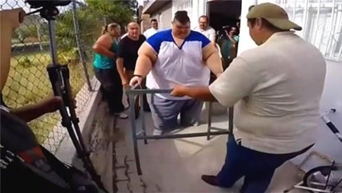 世界上最疯狂的减肥,3年减掉770斤,看完被惊到了!