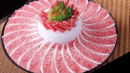 它是最贵的一块牛肉,3000美金只能吃一口,比黄金还要贵好几倍