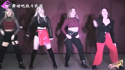 """原来""""嘻哈舞""""已经火到俄罗斯了!网友:战斗民族姑娘跳得真不错"""