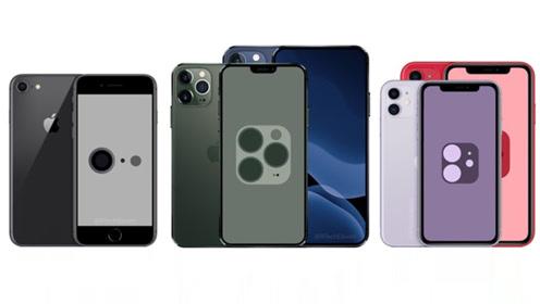 2020年5款新iPhone全曝光,6.7英寸版本或取消刘海屏