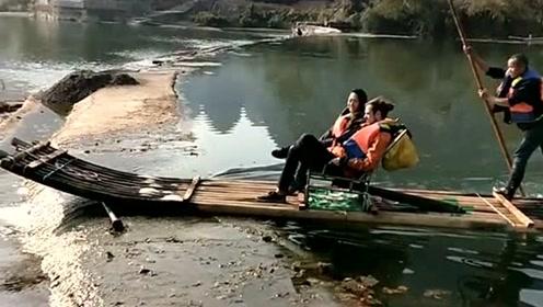 这就是桂林的美景,素有桂林山水甲天下的美称,连外国人都来游玩了!