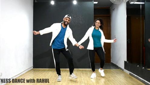 这样的印度风健身舞跳起来才有趣,难度不大,大家都抢着学!