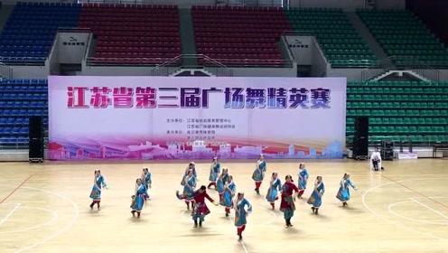 果然都是精英,高手过招气场就是强《再唱藏歌》藏族舞