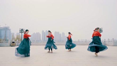 中国舞《飞向天空》,快乐就就要冲冲冲!