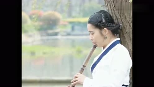好一曲《卷珠帘》,笛子吹奏别有一番味道,笛声渺渺古韵十足