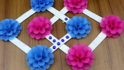 趣味小制作:做漂亮装饰花