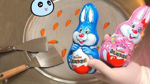 """2只""""兔子奇趣蛋"""",打开惊喜连连,炒成冰淇淋能卖30块!"""