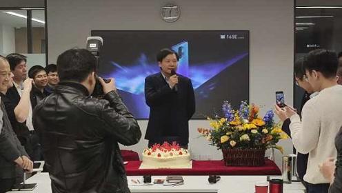 雷军50岁生日,网友送祝福,40岁生日愿望办一家伟大公司