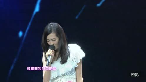 快乐女声全国总决赛杨洋现场演唱《明天我要嫁给你了》