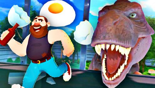 屌德斯解说 自杀伙计03 教你在侏罗纪公园烹饪霸王龙的蛋