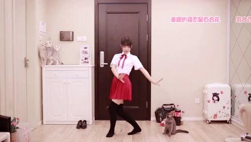 这个软妹纸的舞蹈跳的是真厉害 我是服气了
