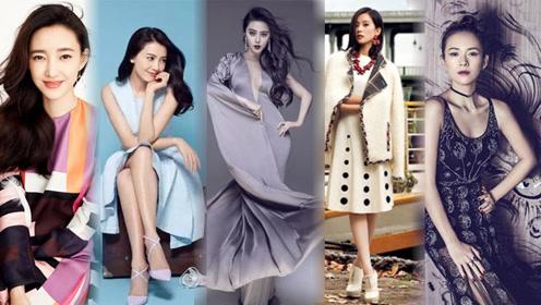 娱乐圈公认最美的五张脸,连杨幂和赵丽颖都没上榜!