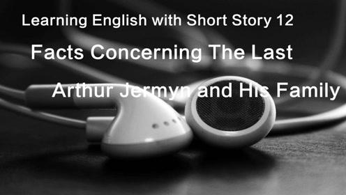 每日一个英语原著小说听力——12