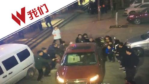 监拍湖南一监狱干警酒后驾车 错踩油门撞向人群致1死3伤
