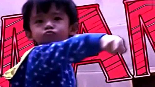 张柏芝小儿子跳舞视频流出,太帅太可爱了
