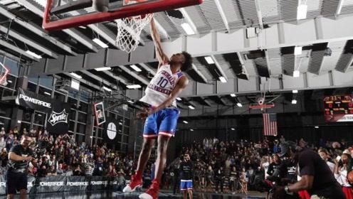 NCAA扣篮大赛,水平明显高于今年的NBA扣篮赛!