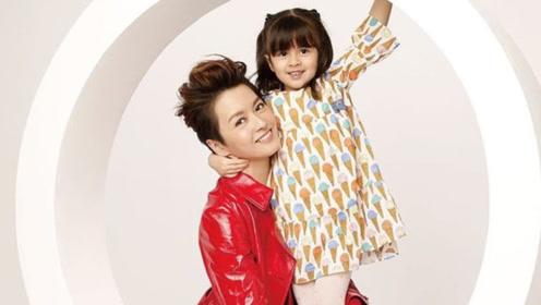 梁咏琪携女儿拍写真,Sofia气场不输妈妈母女俩都是大长腿