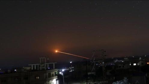 伊朗以色列导弹战开打!实拍数十枚导弹瞬间划过夜空