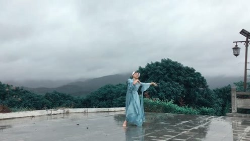 古装妹子演绎《夜雨寄北》古典舞,好棒