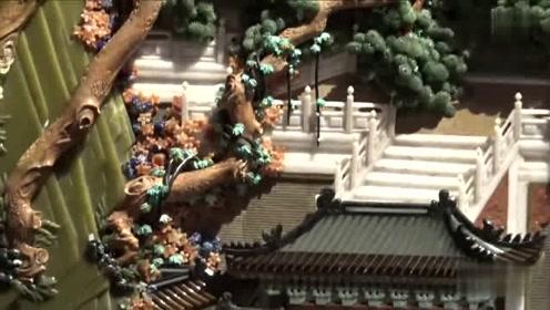 牛人用翡翠绿松石等宝石制作《洛神赋图》 长达4.24米