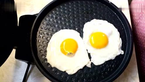 美食达人教你这个方法煎出的鸡蛋最好吃,简单又营养,早餐的新做法