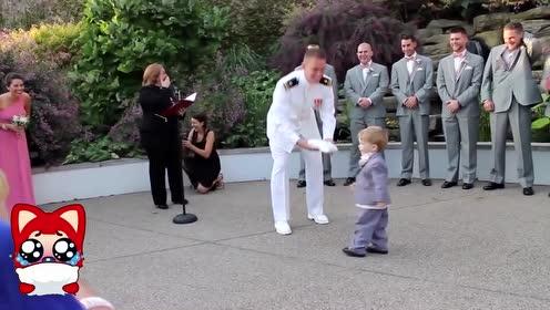 搞笑婚礼幺蛾子 新郎新娘来嗨呀