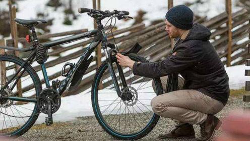 自行车胎也能穿衣服了?操作简单方便,一辆车征服各种地形!