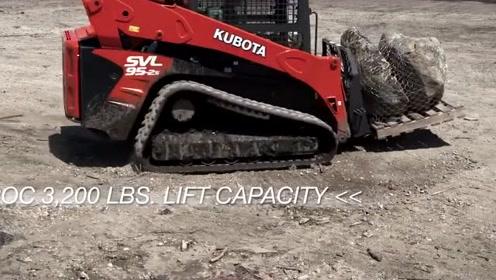 紧凑型履带式装载机久保田不是生产拖拉机的吗?